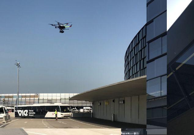 Drohne Flughafen